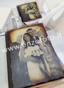 album matrimonio legno