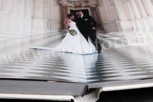 dettaglio foto album matrimonio