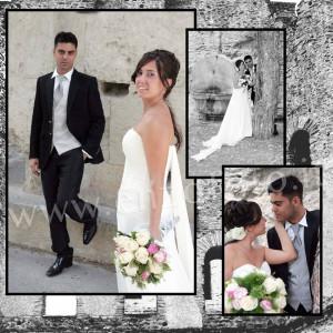 foto composizione foto album matrimonio