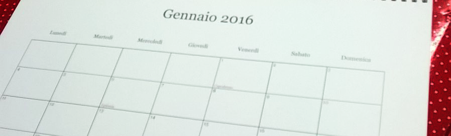 foto calendario torino
