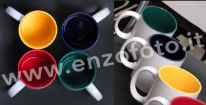 stampa tazza con foto colorate