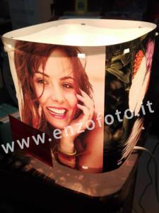 lampada personalizzata con foto