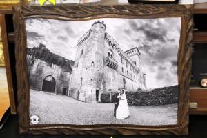 stampa foto quadro legno