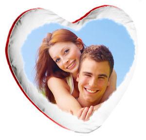 cuscino cuore stampa foto san valentino