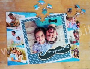foto puzzle festa papà